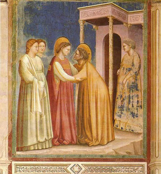 Maria bei Elisabeth, GIOTTO Cappella degli Scrovegni