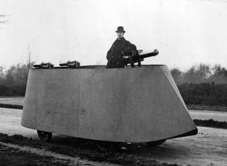 Simms Motor Motor War Car 1902