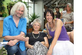 Ursula mit Sanni und Paul