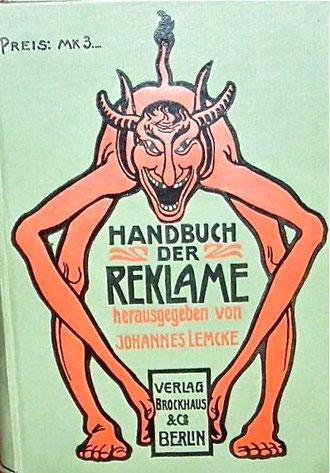Brockhaus Handbuch der Reklame 1901