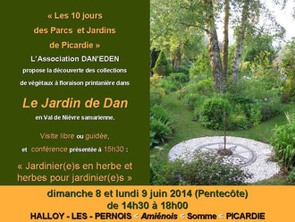 flyer 10 jours Parcs et Jardins de Picardie