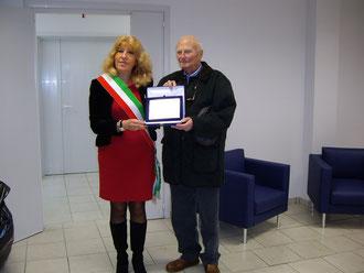 Il dott. Mario Maiani e la dott.ssa Vincenza Filippi
