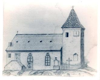 Kirche bis 1887