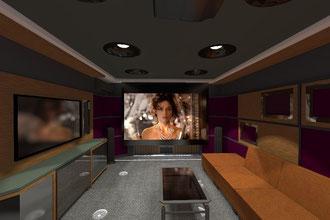 Проекционный кинотеатр в квартире