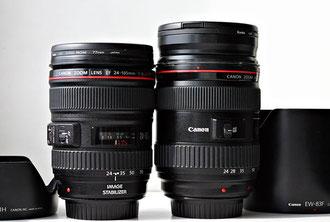 Canon EF 24-105/4L и EF 24-70/2.8L