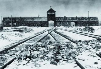 Ingresso a Birkenau