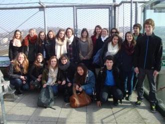 Les jeunes français et quelques correspondants
