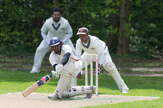 Swiss national XI versus Olten Cricket Club