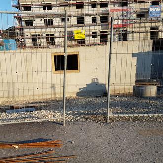 Baustellenbewachung durch den Sicherheitsdienst
