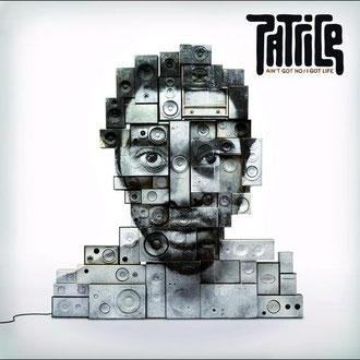 L'image de JR pour la couverture d'un album de Patrice.