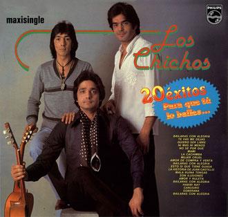 """Maxisingle de Los Chichos extraido del Long Play  """" Para que tu lo bailes """""""