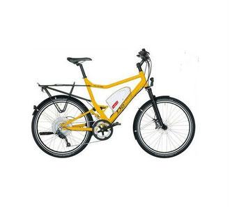 Ein vollwertiges, klappbares Mountainbike