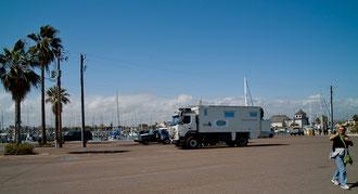Rockport Hafen - unser Übernachtungsplatz