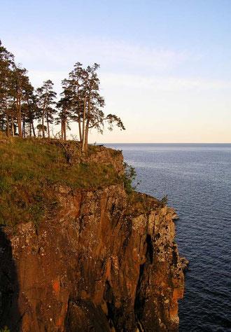 Валаам. Скалистый берег