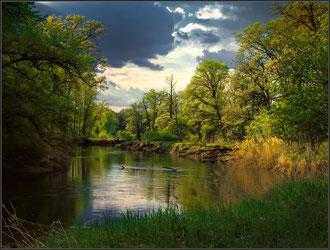 Майская река. Фото Vladimir Podlesnykh