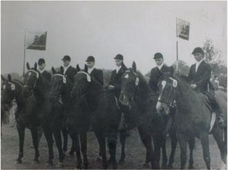 Landespferdeleistungsschau in Radstede 21.-22. Juli 1956