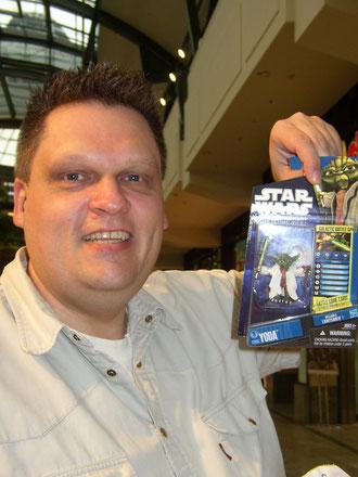 Ich mit Yoda im Centro