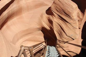 Ausgang Lower Antelope Canyon