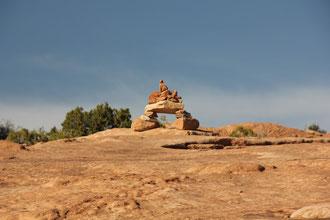 Foto: Trail zur Delicate Arch