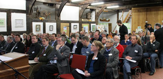 7 VertreterInnen aus dem Elbe-Weser-Raum waren bei der Veranstaltung