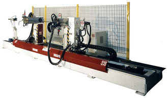 Curvatubi sei assi - Six-axis pipe bending machine
