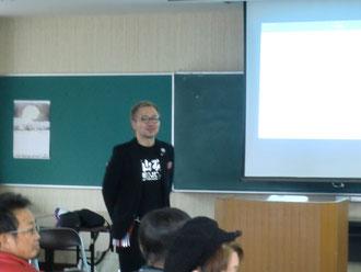 山口貴志中央講師(福岡)を招いて、宮崎県理容組合延岡支部の講習会が開催された。(2018.3.5)