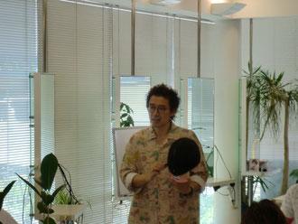 古里マサヒコ先生(東京)を招いて、宮崎FHCの講習会が開催された。(2018.6.25)