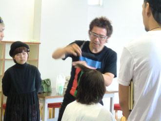 古里マサヒコ先生(東京都)を招いて、FHC(宮崎県)講習が開催された。(2017.6.26)