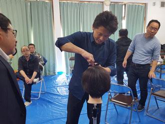 宮脇宏典中央講師(千葉)を招いて、鹿児島早苗会の2019年4月期の講習会が開催された。(2019.4.1)