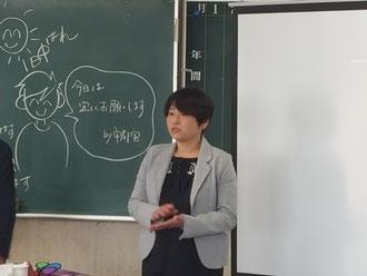 福岡から宇都宮まどか中央講師を招いて、宮崎県理容組合のニューヘアー講習が開催された(2019.1.28)