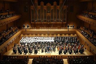 東京オペラシティ・コンサートホールにて