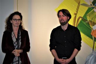 Dr. Pia Dornacher und Sebastian Kuhn. Foto: Edith Viezens-Kleinert