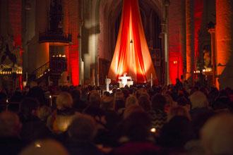 Über 2000 Besucher füllten den Eichstätter Dom bei der siebten Auflage der Nacht der Lichter.