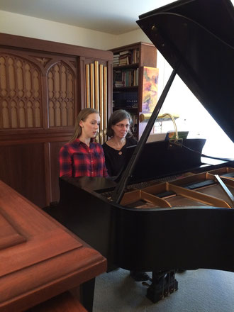 Playing duets develops ensemble skills, aural skills, and artistry- and it's fun!