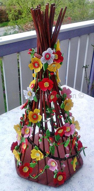 Obelisk - Paperroll - Quilling -Paperflowers