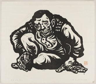 三井寿《老農坐像》(1971年)