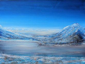 Eisige Landschaft, 50 x 70 cm