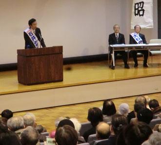 佐々木憲昭議員と大石さん
