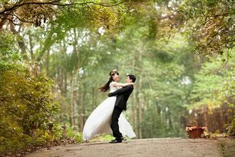The american way of wedding!