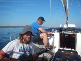 eine lange Segeltour durch das westliche Mittelmeer