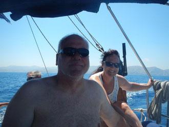 Erfahrungen sammel bei einem Segeltörn im Mittelmeer