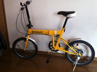 自転車かいました!