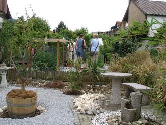 Tag der offenen Gartentür in Bissingen/Teck