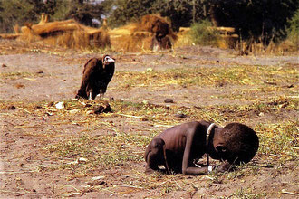 A starving child that God loves