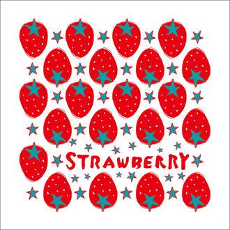 美容室strawberryさま  12周年オリジナルタオル