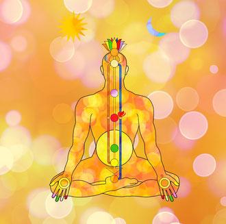 Energiefluss in Körper und Aura