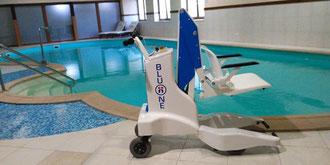 grua piscina PMR discapacitados