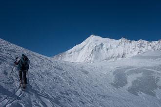 Skitour, Skihochtour, Turtmanntal, Brunegghorn, Turtmannhütte, Brunegg Gletscher, Weisshorn, Weisshorn Nordgrat