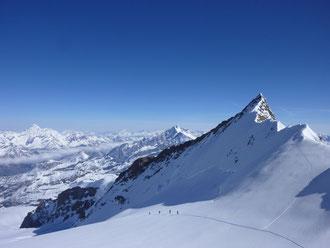 Zustieg, Monterosa Hütte, Schwarztor, Skitour,Schwärzegletscher, Matterhorn,Nordend, Skihochtouren, Wallis