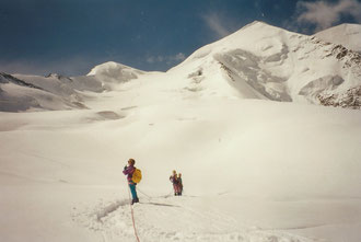 Piz Palü Ostpfeiler, östlicher Nordwand Pfeiler Piz Palü, östlicher Nordwandpfeiler
